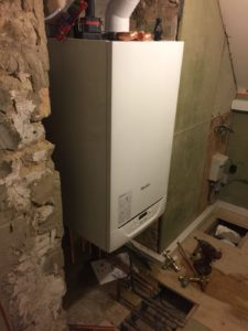 Samford Live Project - Service 2 Mechanical Engineers Boiler installation