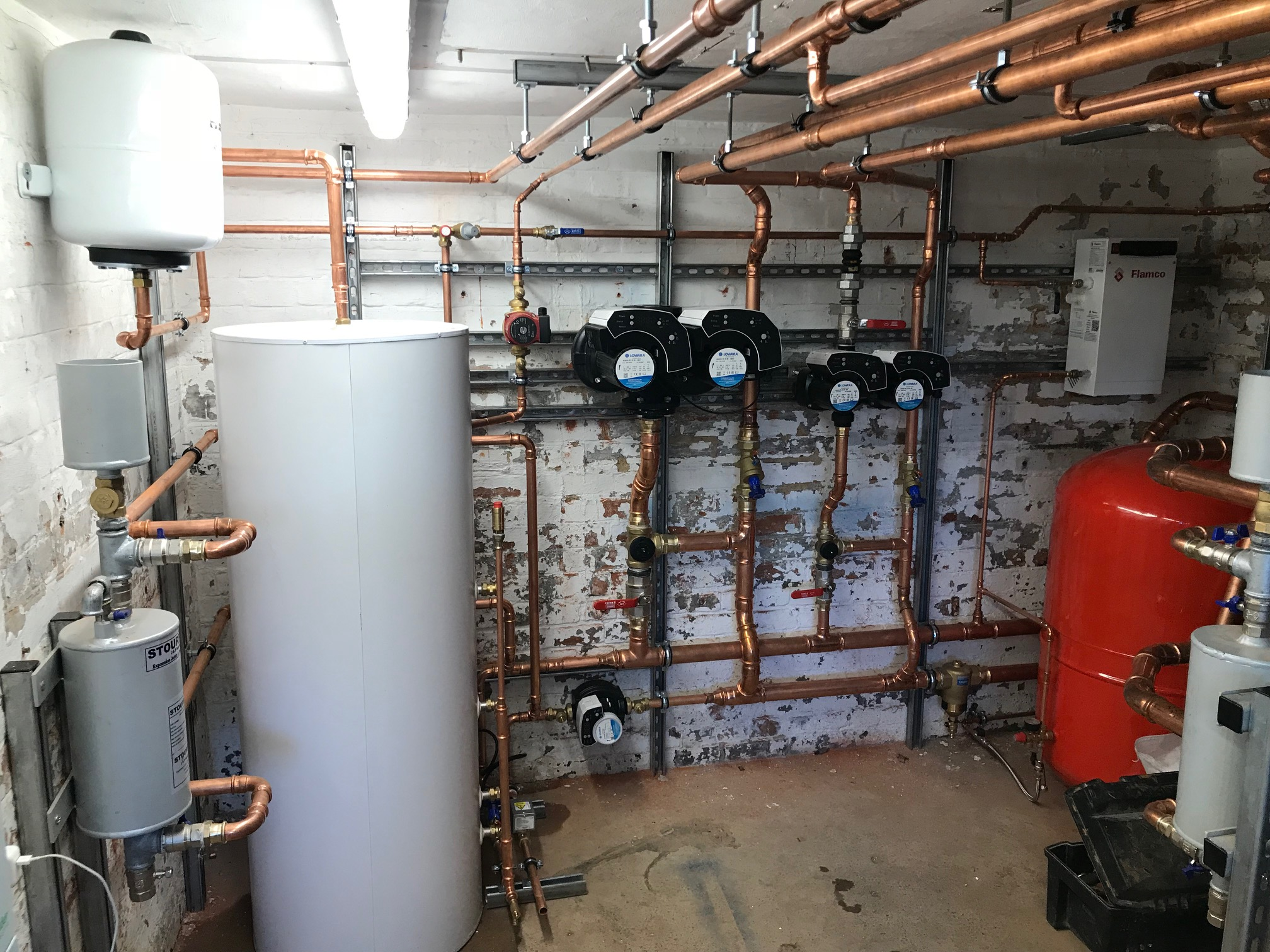 Service 2 - Plant Room