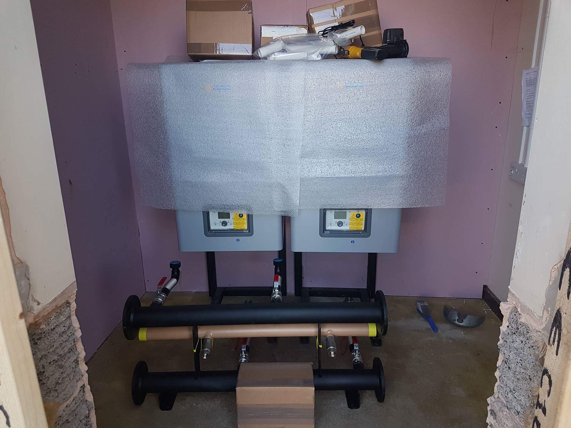 Hamworthy HVAC installation - Service 2 (HVAC) Limited