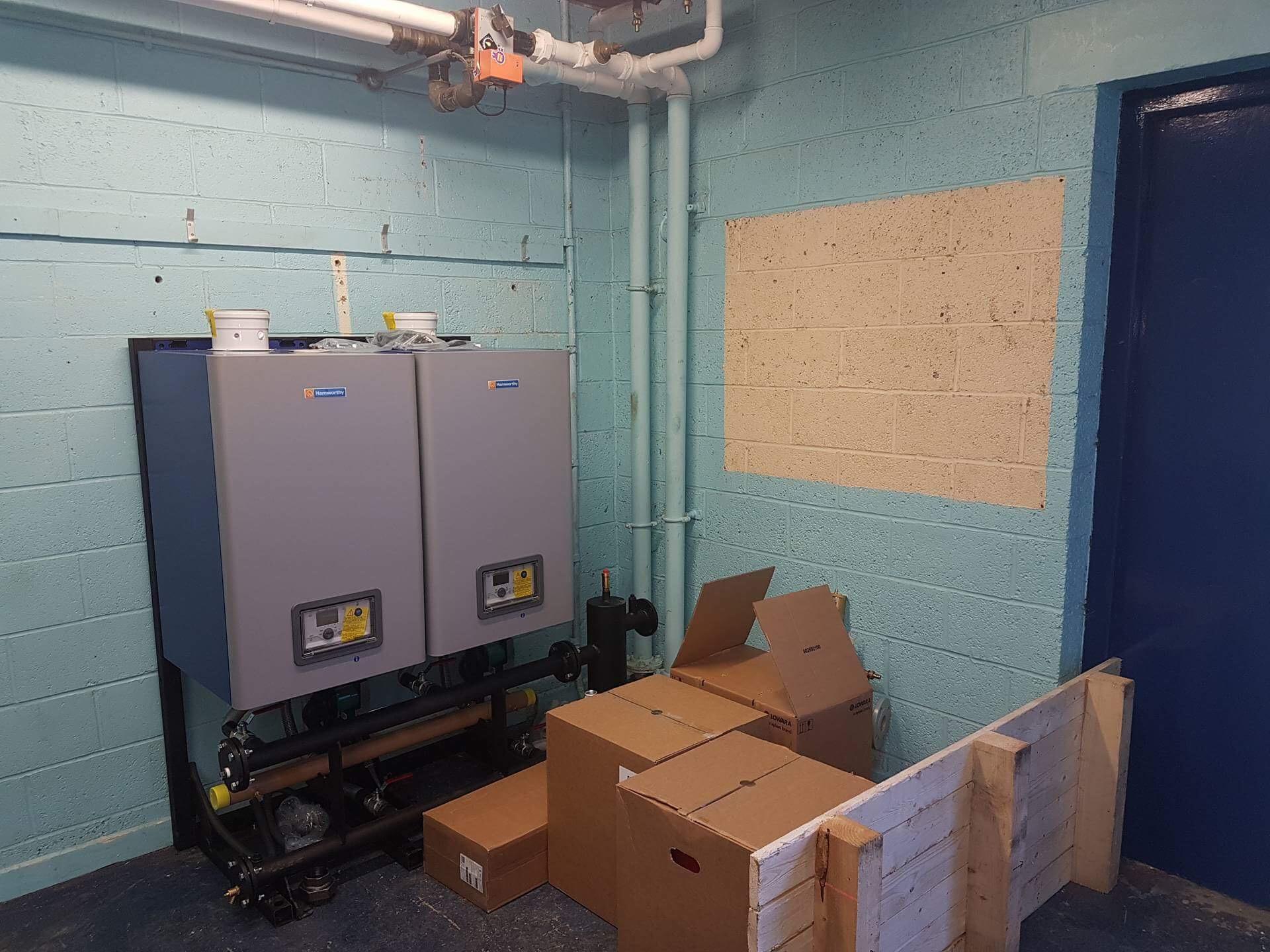 Hamworthy boiler HVAC installation - Service 2 (HVAC) Limited