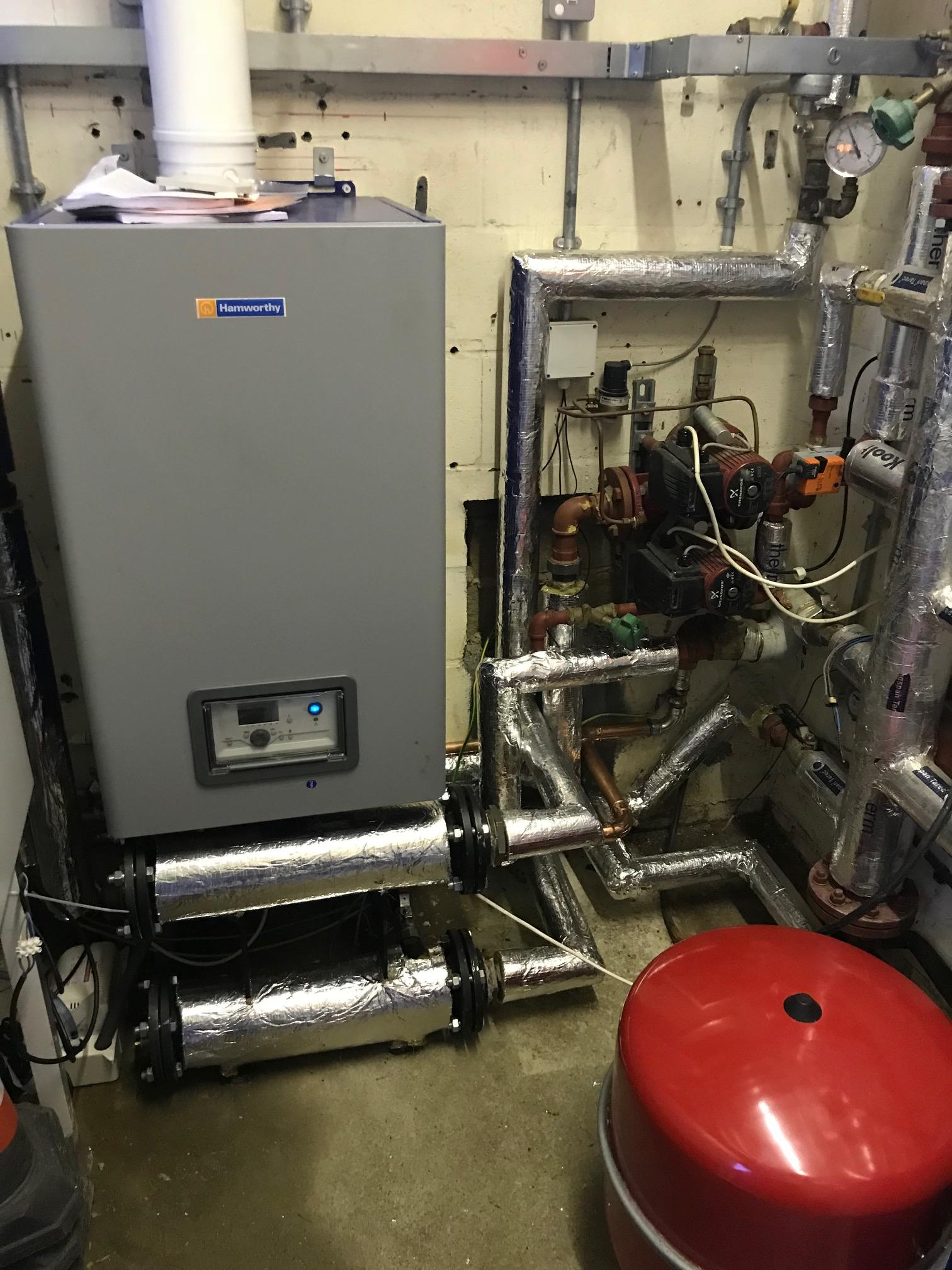 St Johns Church - Hamworthy Boiler Completed install Service 2 HVAC Limited