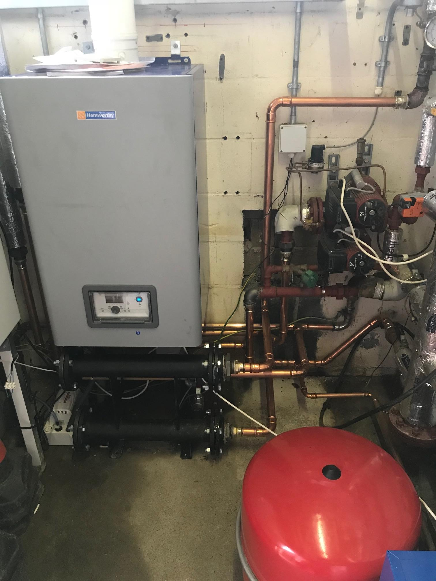 St Johns Church - Hamworthy Boiler installation Service 2 HVAC Limited