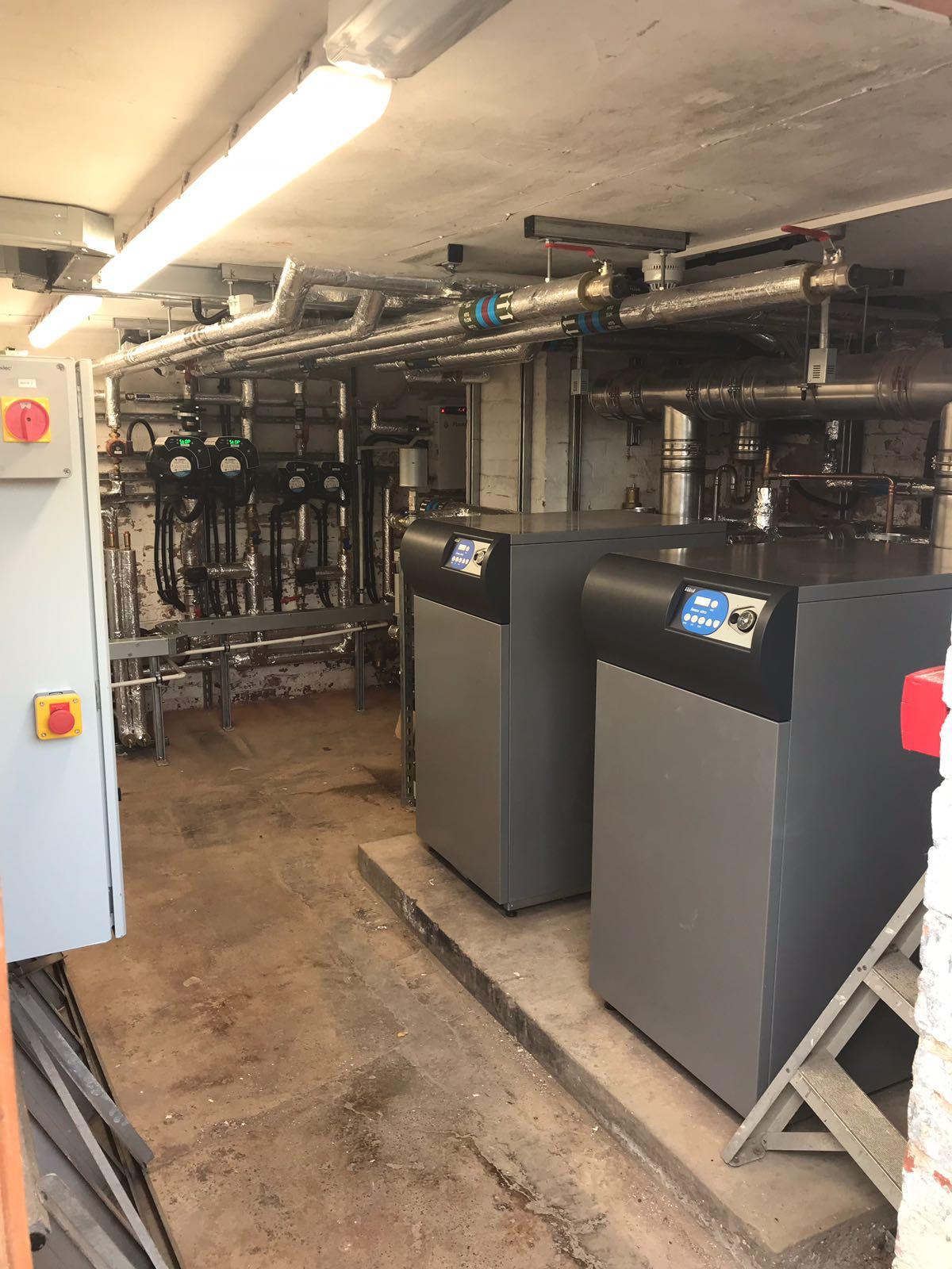 Service 2 HVAC Plant Room - Badby School