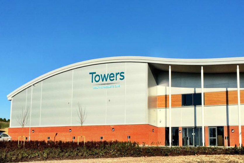 Club Towers One Health Club Bedford - Service 2 Completed Project